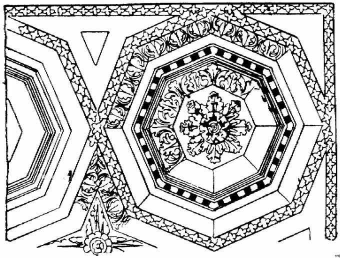 architecture coloring book pages - photo#24