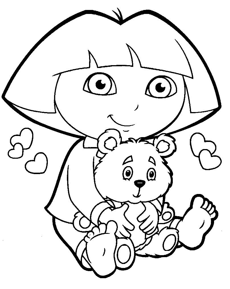 Coloring Pages Dora And Diego 26
