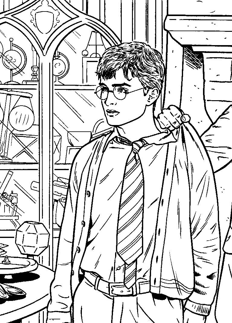 Golden Snitch Coloring Pages