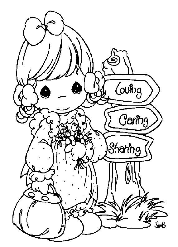cowboy precious moments coloring pages photo31