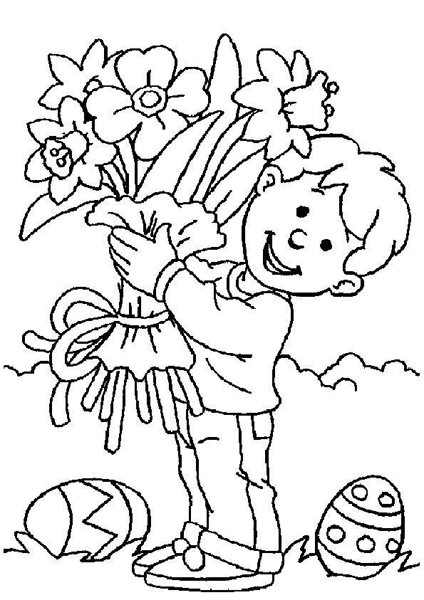 Coloring Pages Walt Disney Easter